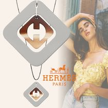 HERMES Casual Style Initial Animal Street Style Party Style