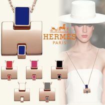 HERMES Casual Style Street Style Chain Party Style Office Style
