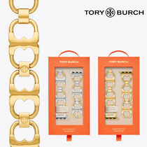 Tory Burch Casual Style Chain Stainless Office Style Apple Watch Belt