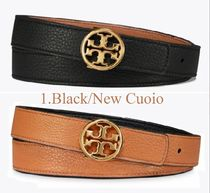 Tory Burch Casual Style Plain Leather Office Style Formal Style  Logo
