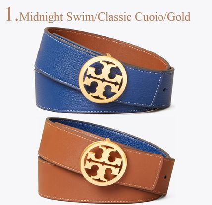 Tory Burch Formal Style  Logo Casual Style Plain Leather Party Style