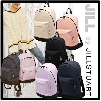 JILLSTUART Casual Style Unisex Street Style A4 Backpacks