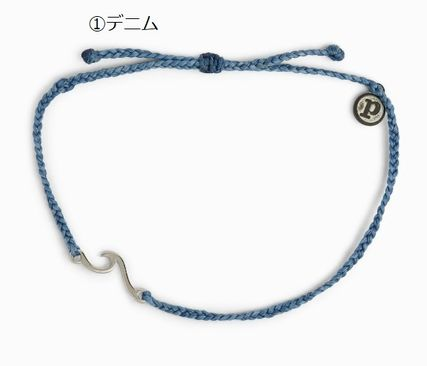 Unisex Street Style Silver Anklets
