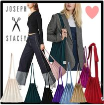 JOSEPH&STACEY Casual Style Street Style Totes