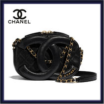 CHANEL Other Plaid Patterns Casual Style Lambskin 2WAY Chain