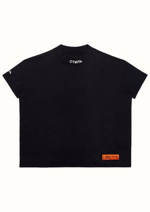 Heron Preston More T-Shirts Street Style Cotton Short Sleeves Oversized Logo T-Shirts 2