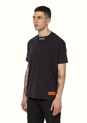 Heron Preston More T-Shirts Street Style Cotton Short Sleeves Oversized Logo T-Shirts 6