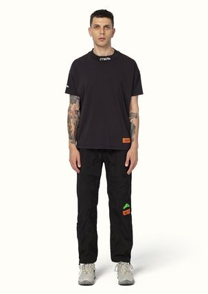 Heron Preston More T-Shirts Street Style Cotton Short Sleeves Oversized Logo T-Shirts 8