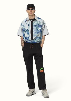 Heron Preston More T-Shirts Street Style Cotton Short Sleeves Oversized Logo T-Shirts 9