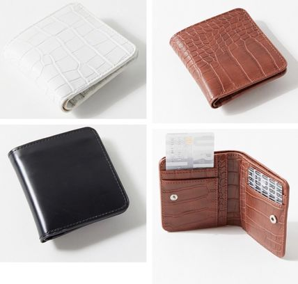 Python Folding Wallet Small Wallet Card Holders