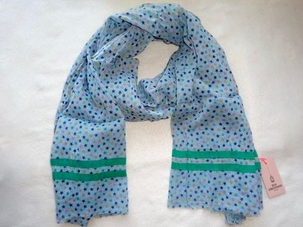 Star Casual Style Unisex Cotton Lightweight Scarves & Shawls