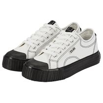 23.65 Casual Style Unisex Street Style Plain Logo Low-Top Sneakers