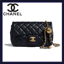 CHANEL Casual Style Lambskin 2WAY Chain Party Style Elegant Style