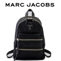 MARC JACOBS Casual Style Nylon Street Style Bag in Bag Logo Backpacks