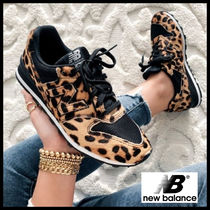 New Balance 996 Leopard Patterns Street Style Low-Top Sneakers