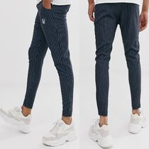 ASOS Stripes Street Style Cropped Pants
