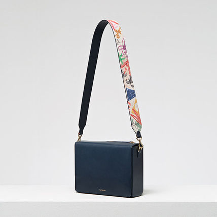 MUTEMUSE Leopard Patterns Casual Style Leather Bags