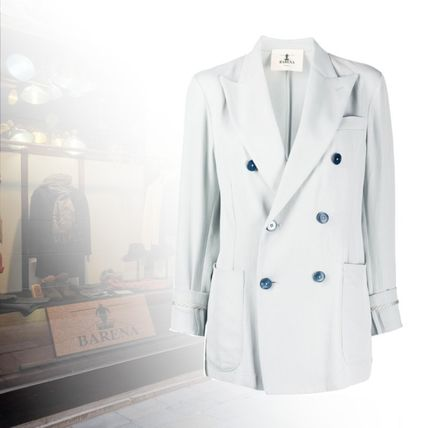 Casual Style Office Style Jackets