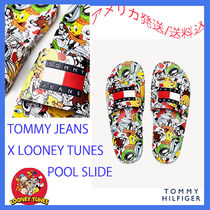 Tommy Hilfiger Collaboration Shower Shoes Flipflop Logo Shower Sandals