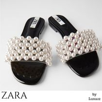 ZARA Casual Style With Jewels Elegant Style Sandals Sandal