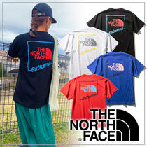 THE NORTH FACE Crew Neck Unisex Long Sleeves Plain Long Sleeve T-shirt Logo
