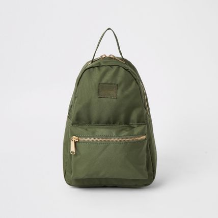 Casual Style Nylon Blended Fabrics Backpacks