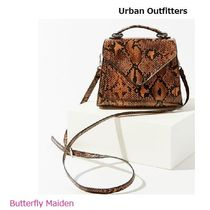 Urban Outfitters Faux Fur Street Style 2WAY Plain Crossbody Shoulder Bags