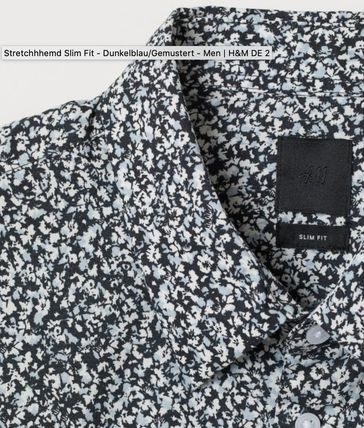 Paisley Street Style Long Sleeves Cotton Shirts