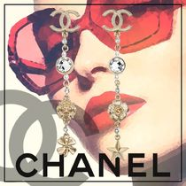 CHANEL Costume Jewelry Casual Style Party Style With Jewels