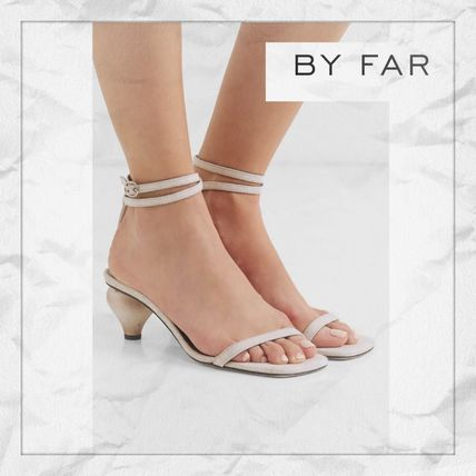 Casual Style Plain Block Heels Party Style Elegant Style