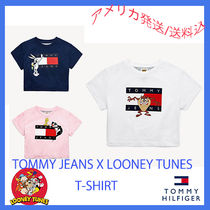 Tommy Hilfiger Street Style Collaboration Kids Girl Tops