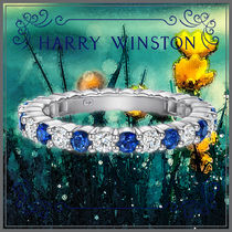 Harry Winston Icy Color Rings