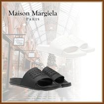 Maison Margiela Plain Shower Shoes PVC Clothing Flipflop Logo Shower Sandals