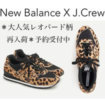 New Balance 996 Leopard Patterns Casual Style Suede Street Style