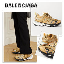 BALENCIAGA TRACK Casual Style Street Style Logo Low-Top Sneakers