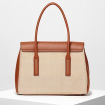 FIORELLI Casual Style Leather Office Style Elegant Style Handbags