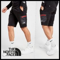 THE NORTH FACE Street Style Plain Logo Cargo Shorts