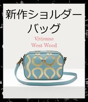 Vivienne Westwood Monogram Casual Style Calfskin Party Style Elegant Style