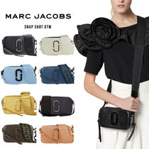 MARC JACOBS Snapshot Casual Style Unisex Vanity Bags 2WAY Plain Leather