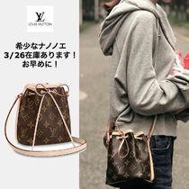Louis Vuitton NOE Casual Style Leather Party Style Purses Elegant Style