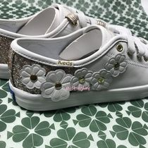 kate spade new york Flower Patterns Casual Style Collaboration Low-Top Sneakers
