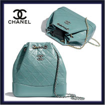 CHANEL Casual Style Calfskin Chain Plain Leather Party Style Purses
