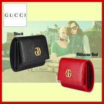 GUCCI Plain Leather Keychains & Bag Charms