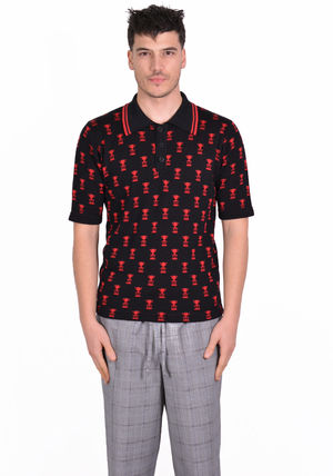 ERNEST W.BAKER Polos Cotton Short Sleeves Polos