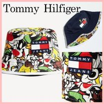 Tommy Hilfiger Street Style Collaboration Wide-brimmed Hats