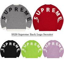 Supreme Unisex Street Style Collaboration Sweaters
