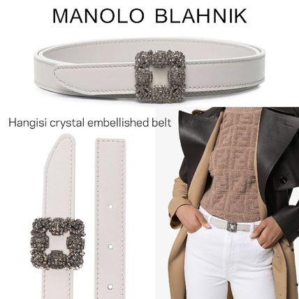 Casual Style Blended Fabrics Bi-color Plain Leather