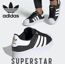 adidas SUPERSTAR Casual Style Street Style Logo Low-Top Sneakers