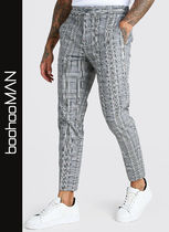 boohoo Other Plaid Patterns Cropped Pants