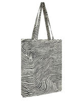 Accessorize Stripes Casual Style Canvas A4 Elegant Style Formal Style